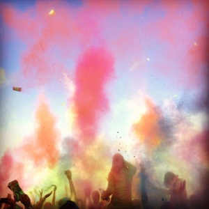 Explosions of colour at the We Are One festival in Johanesburg